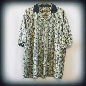 Pierre Cardin Men's Button Down Shirt XL EUC